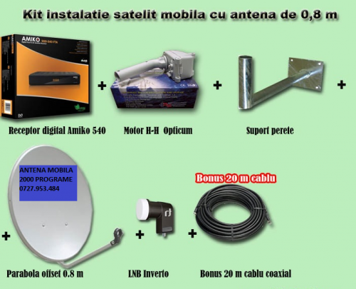 ANTENE SATELIT 0765681588 INST