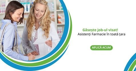 Asistenti Farmacie in Romania