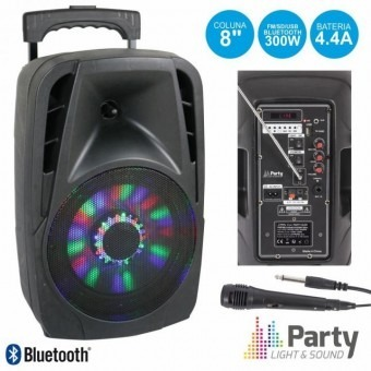Boxa portabila Party Light   S