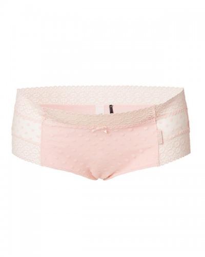 Chilot roz cu dantela pentru g
