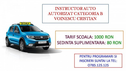 Instructor auto cat B  sector