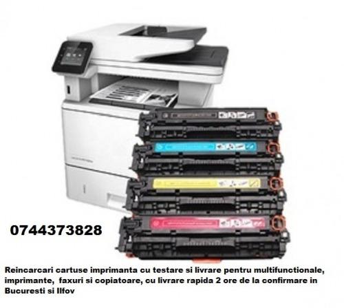 Mentenanta cartuse imprimanta