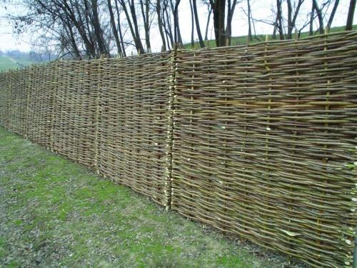 Panou de gard din lemn (nuiele