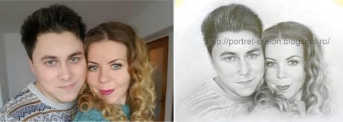 Portrete si caricaturi desenat