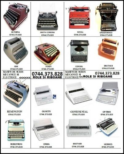 Riboane masini de scris