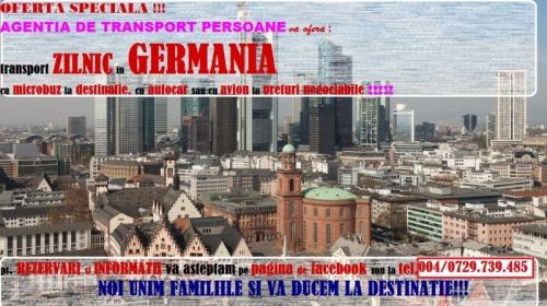 Transport persoane in GERMANIA