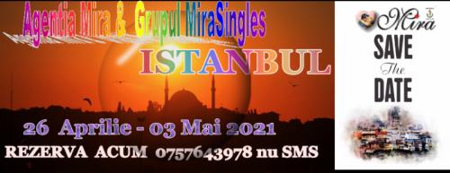 Vacanta 01 Mai 2021 Istanbul